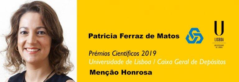 Patricia Ferraz de Matos Prémio Lisboa/CGD